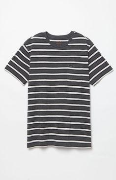 Fell Stripe Crew Neck T-Shirt
