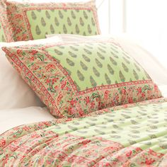 Pine Cone Hill Annette Pillow Sham. #laylagrayce #pineconehill