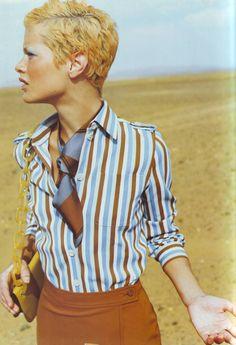 ☆ Carolyn Murphy   Photography by Mario Testino   For Vogue Magazine France   February 1996 ☆ #Carolyn_Murphy #Mario_Testino #Vogue #1996