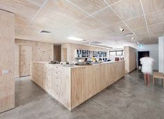 2fcacbf5035c Modern office space by Clare Cousins Architects