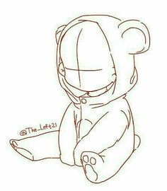 Ideas For Baby Drawing Reference Posts Baby Drawing, Drawing Base, Manga Drawing, Chibi Drawing, Chibi Sketch, Teddy Bear Drawing, Body Sketches, Art Drawings Sketches, Cute Drawings