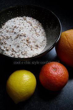 Sale aromatizzato agli agrumi ricetta
