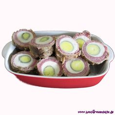 Lübecker Schwalbennester mit 4 hartgekochten Eiern