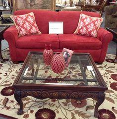 Sleeper Sofa - Red Sofa Sleeper - $509.95