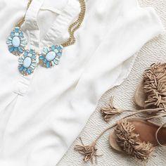 #statement #necklace #tassels #jewelry #trendtribe