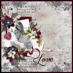 Page by Atusia using Key of Love by ML Designs