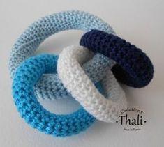 Tuto | Hochet 3 anneaux