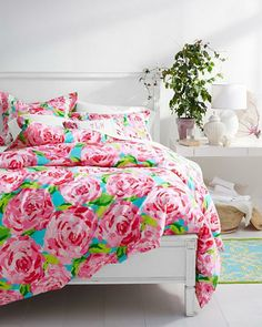 Lilly Pulitzer Sister Florals Bedroom