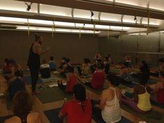 #yoga class with @Ryan Leier