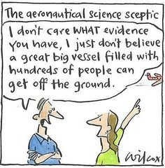 """Climate Action Deniers - """"Climate change is a HOAX - I don't believe 99.9% of scientists are right!"""""""