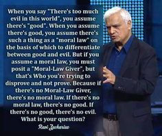 If there are no absolutes or no moral laws then by your own logic there is no good or evil. And it does not matter what happens or how. #atheism failure