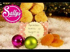 Aprikosen-Kokos-Kugeln: fruchtig, exotisch und lustig ;) - Inspiration etwas mit Kokosnussöl und Früchten zu machen, ungebacken. lecker und gesund