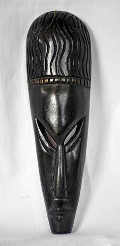 African Art Marka Mask African American Art by Boriquahafrikanah, $25.00