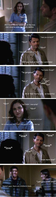 Megstiel - Flirting in the asylum.