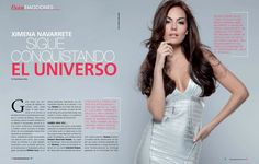 gabriella catano images   Ximena Navarrete for Pasion Magazine August 2013 ~ Latina Novela