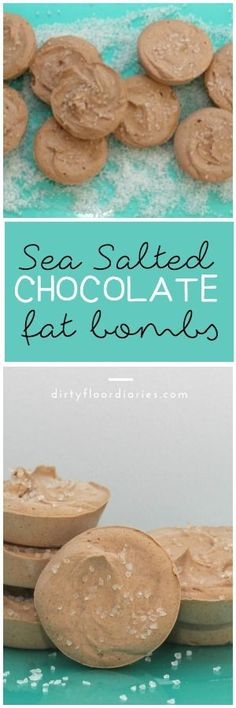 Sea Salted chocolate Fat Bombs for Keto, LCHF. #EssentialVitamins ad