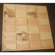 Personalise This Lovely Wooden Advent Calendar To Make A Lasting Christmas Keepsake With 24 Opening Doors Plain Bo Decoupage Blanks