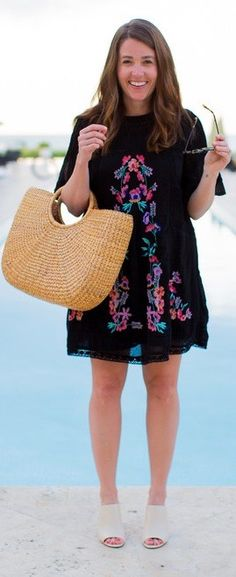 ^_^ Adorable Boho Dress To Look Out For ❤️ :: boho fashion :: gypsy style :: hppie chic :: boho chic :: outfit ideas :: boho kimono :: free spirit :: fashion trend :: embroidered :: flowers :: floral :: lace :: summer :: fabulous :: love :: street style :: fashion style :: boho style :: bohemian :: modern vintage :: ethnic tribal
