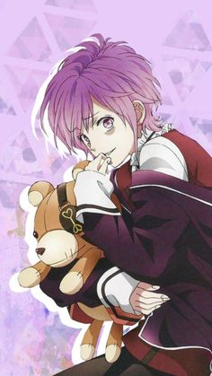 Kanato Sakamaki from Diabolik Lovers (TV Show) C Anime, Anime Naruto, Kawaii Anime, Anime Guys, Diabolik Lovers Wallpaper, Diabolik Lovers Ayato, Kanato Sakamaki, Demon Art, Anime Stickers