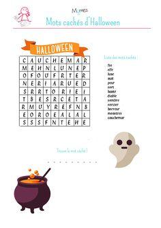 Mots cachés d'Halloween