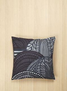 Made of heavyweight cotton sateen, this pillow sham features the Vuorilaakso print in greys with a side zip closure. Pattern: Vuorilaakso Pattern Designer: Sanna Annukka Material: 100 % Cotton Size: 50 x 50 cm Color: grey, dark grey Decor, Printing On Fabric, Throw Pillows, Home Furnishings, Pillow Shams, Marimekko, Pillows, Cover Gray, Cushion Cover