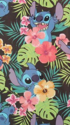 awesome, beautiful, cool, cute, food, girl, girly, jungle, lilo, lilo and stitch, pretty, stitch, wallpaper