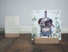 photo holder  wooden print display   photo stand  photo