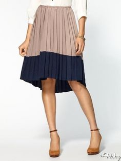 9 Midi Skirt Must Haves! - Chandi and Lia Pleated Skirt