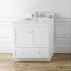 "Ronbow Modular Shaker 30"" Bathroom Vanity Cabinet Set"