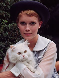 Mia Farrow and Malcolm, a Frank Sinatra victim