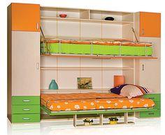 Çift Yataklı Katlanır Ranza | Genç Odası Modelleri ve Fiyatları