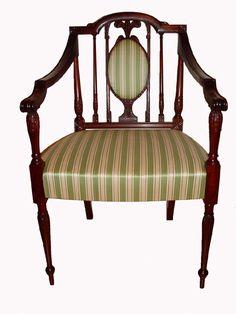 Federal Chairs   William Doub Custom Furniture   Philadelphia Federal Chair