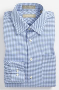 c0fa8b8050a Nordstrom Smartcare™ Wrinkle Free Trim Fit Gingham Dress Shirt (Online Only)