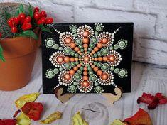 Mandala A la técnica única punto de arte única por AnnaSmirnova74