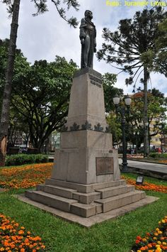 Tiradentes Square located in downtown Curitiba.