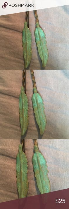 Handmade Copper Leaf Bobby Pins Handmade Copper Leaf Bobby Pins Other
