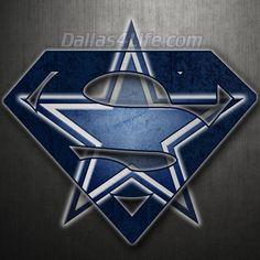 Superman Dallas Cowboys Logo