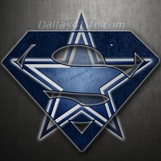 Superman Dallas Cowboys Logo