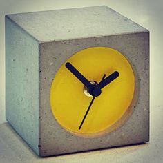 Bloc Cloc, the Lowinfo original concrete clock #concrete #concretedesign #design…