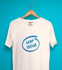 Beer inside! 🍻 #zizimut #funnytshirts #tshirts #hoodies #sweatshirt #giftshops #personalizedgifts #personalizadas #porto🇵🇹 #tshirtshop #cerveja #beer #drinks #copos #intel