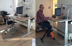Bureaus die werken | Zit-Sta Bureaus, Desk verhogers en vergadertafels