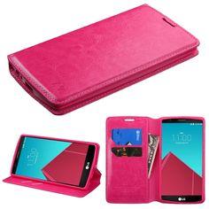 LG G4 Mybat Hot Pink MyJacket Wallet :: CellPhoneCases.com
