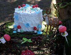 Enchanted woodland cake
