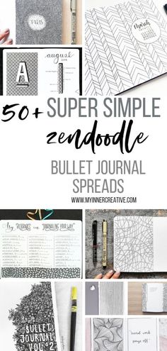 Nov 2018 - We have put together a selection of 51 repetitive Patterned bullet journal themes to keep a busy mind active and a create mindfulness and calm when creating gorgeous pages!