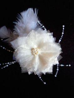 Bridal fascinator bridal fascinator comb wedding by jdsweddings my 6 diy fascinator wedding beads diy fascinator hair ivory lace organza pearls white 071712150248 solutioingenieria Images