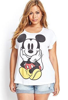 Mickey Mouse Graphic Tee | FOREVER21 PLUS - 2055880177