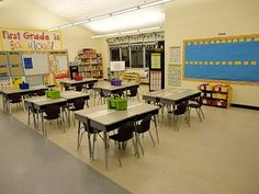 44 best Classroom Set-Up - Desk Arrangements images on Pinterest ...