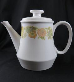 Noritake Progression Sunny Side Coffee Pot or Tea by CheekyBirdy