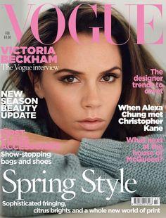 Victoria Beckham Vogue UK Februari 2011