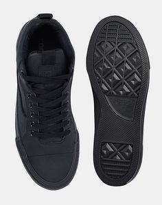 df3488469ea887 Converse Cons Star Player Plimsolls In Washed Canvas Black in Black for Men